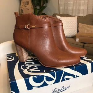 Lucky Brand heeled boots
